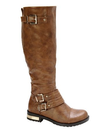 Another great find on #zulily! Tan Gold Coast Boot #zulilyfinds $30