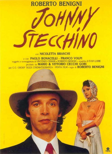 """Johnny Stecchino"" by Roberto Benigni lmaooo favorite movie !!!"