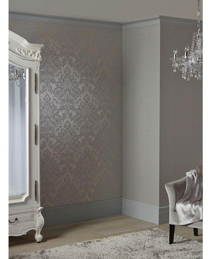 Silver Glitter Wallpaper Bedroom Navy Bedroom Color Schemes Childrens Bedroom Furniture Uk Kids Bedroom Art: 25+ Best Ideas About Damask Wallpaper On Pinterest