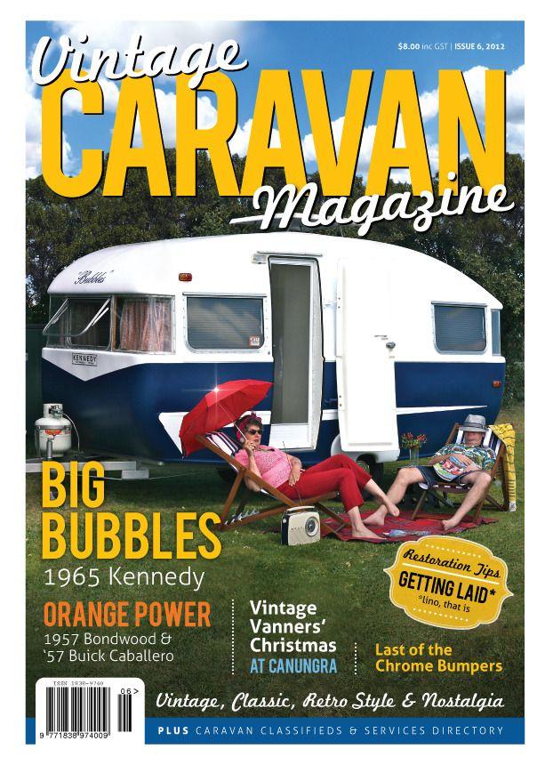 Vintage Caravan Magazine way too many tempting ideas