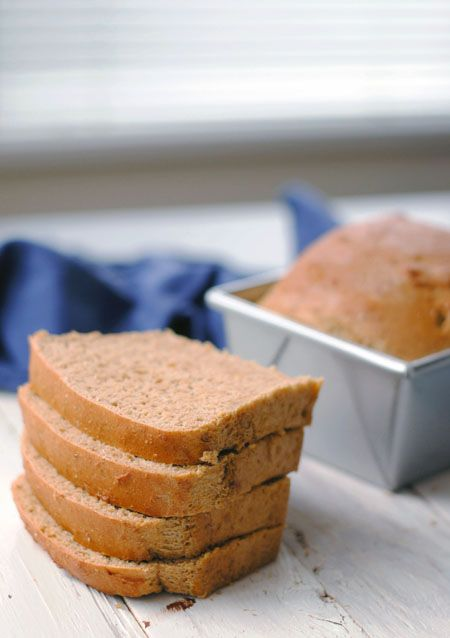 Easy Whole Wheat Bread | BREAD! | Pinterest