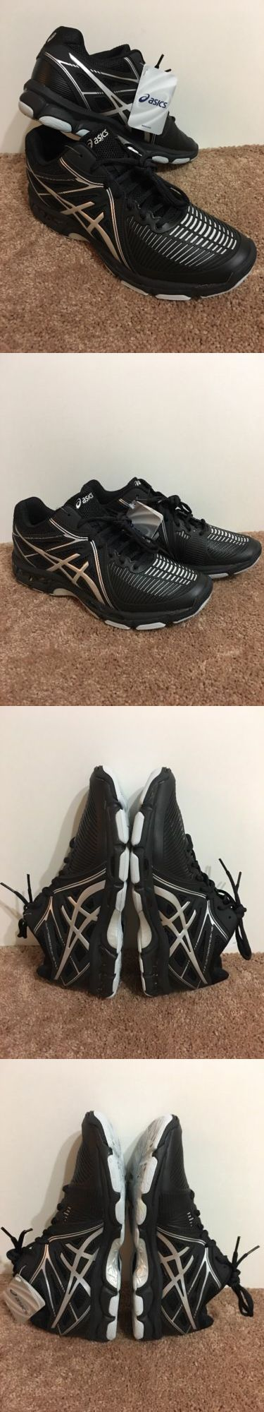 Clothing 159130: Asics Gel Netburnerballistic Mt Mens Volleyball Shoe B508y .9093 Sz 12 Blk/Slv -> BUY IT NOW ONLY: $129.99 on eBay!