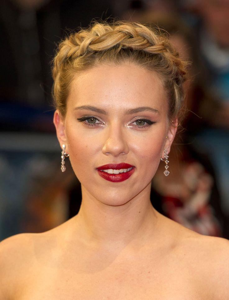 scarlett-johansson #Celebrity #wedding #makeup