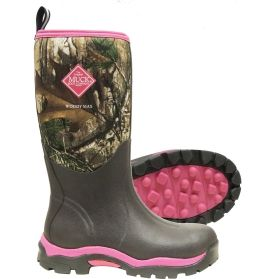 Muck Boot Women's Woody Max Realtree AP Pink Rubber Hunting Boots. I Soo Need these!