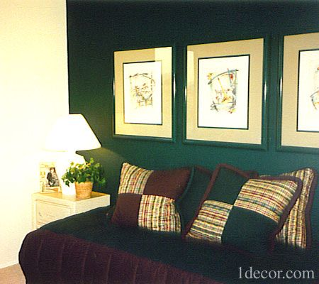 Forest Green Wall Wall Gallery Wall Den Ideas