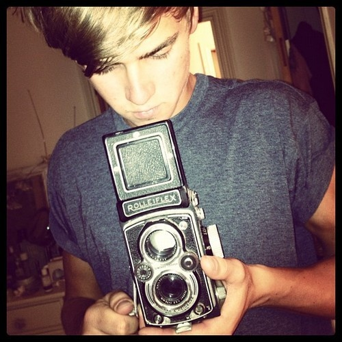 ThatcherJoe | Joe Sugg | Zoella's Brother with a Rolleiflex