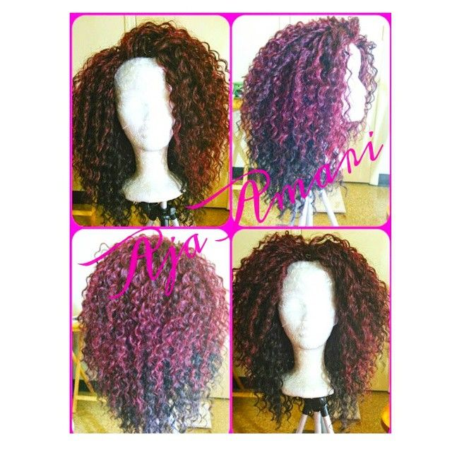 Crochet Hair Ombre : Deep twist freetress crochet braids #ombre