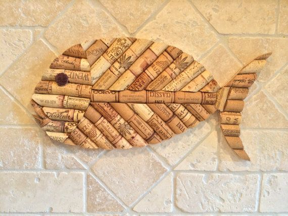 Wine Cork Fish- Large: