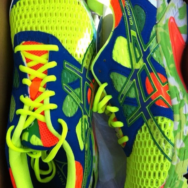 You could WIN a brand new pair of ASICS shoes by simply entering our Instagram competition: www.instagram.com/aussiediamonds