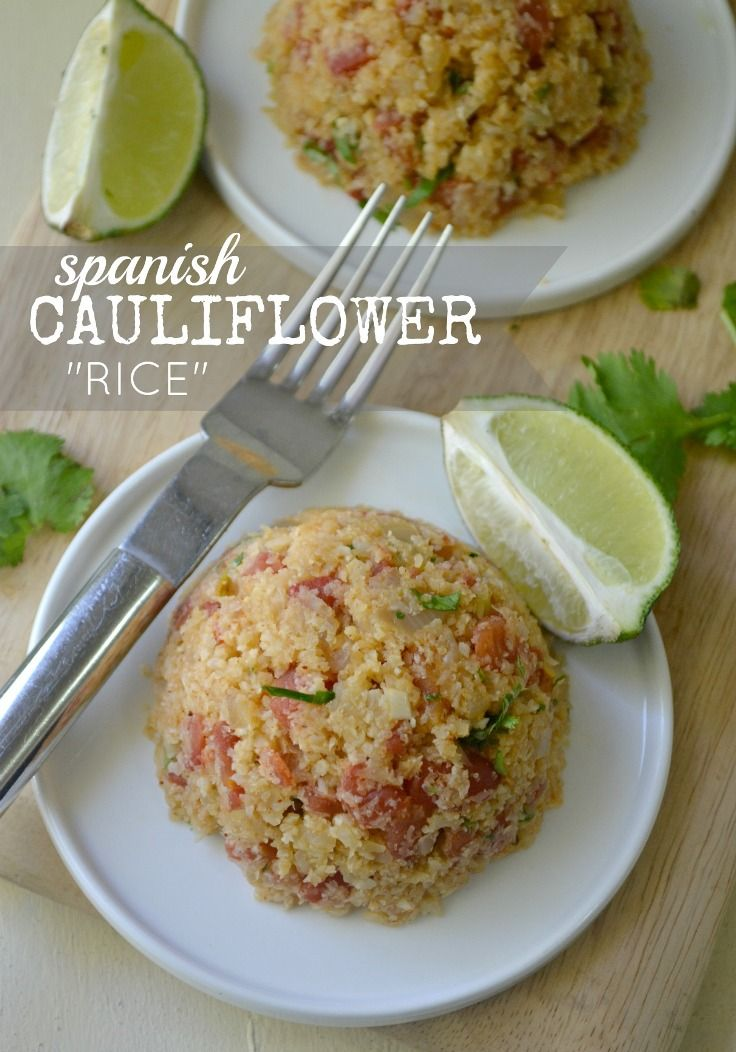 Top 10 Best Spanish Recipes {included in the list is Spanish cauliflower rice recipe link: http://www.forkandbeans.com/2013/04/16/cauliflower-spanish-rice/ }