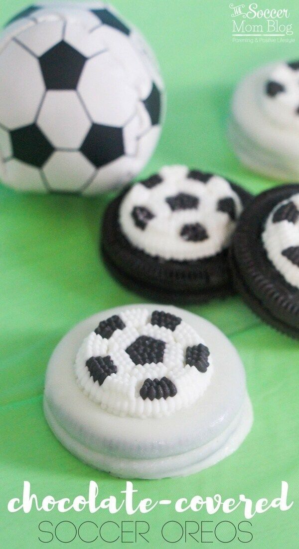 Perfect for a soccer-themed kids birthday party or post practice treat…