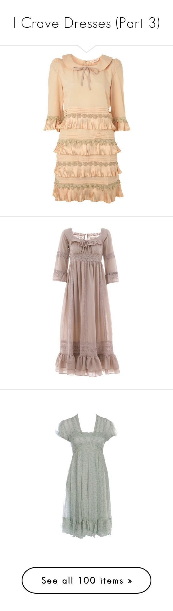 """""""I Crave Dresses (Part 3)"""" by pomegranateslushies ❤ liked on Polyvore featuring dresses, vestidos, haljine, short dresses, miss selfridge, miss selfridge dresses, beige short dress, mini dress, gowns and vintage"""