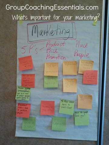 Marketing your Group Coaching is one of many topics we cover at the Group Coaching Intensive, along with group coaching design, implementation, and many practice opportunities! www.groupcoachingessentials.com