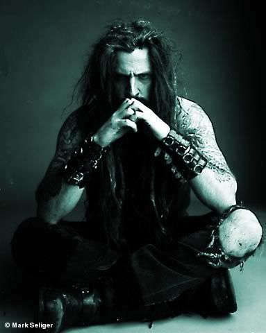 Rob zombie..Maybe I should grow my hair like that