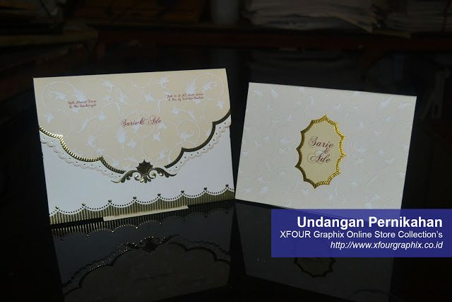 Undangan Pernikahan Online Hardcover Dan Amplop