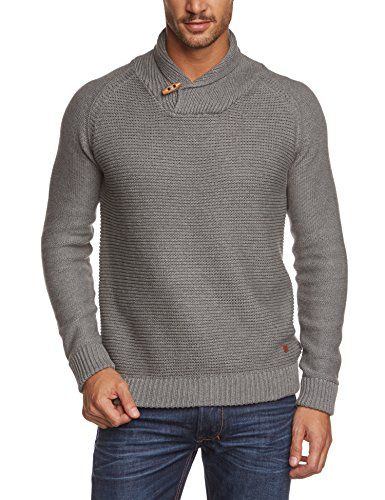 JACK & JONES PREMIUM - Maglione Collo alto, Uomo, Grigio (Grau (Grey Melange)), S JACK & JONES PREMIUM http://www.amazon.it/dp/B00K3DUQEE/ref=cm_sw_r_pi_dp_J5Wvwb05KZAXD