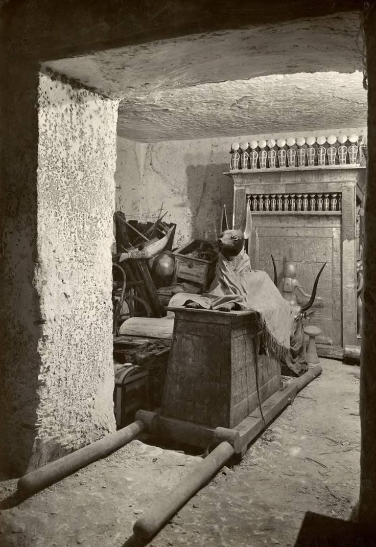 ancient history tutankhamuns burial chamber This course focused on five key areas in the study of ancient egypt: 1) principles  of  carved on the wall of one of the protective shrines in the burial chamber.