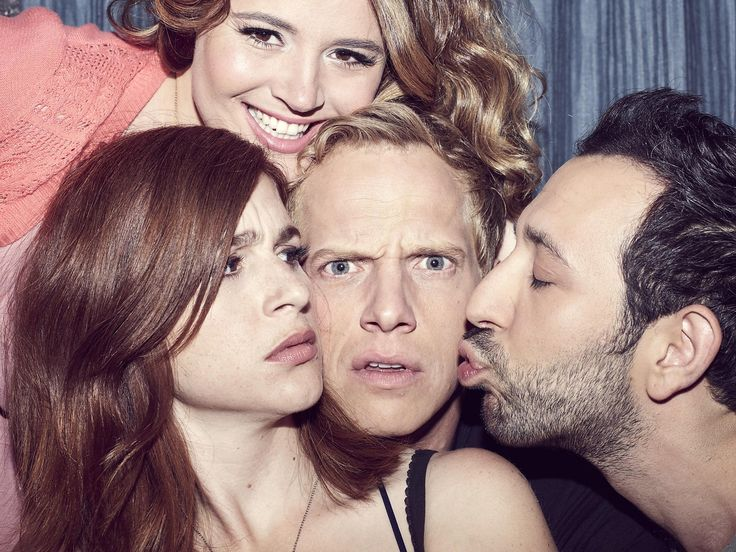 "Jimmy (Chris Geere) and Gretchen (Aya Cash) have actually said the word ""love,""…"