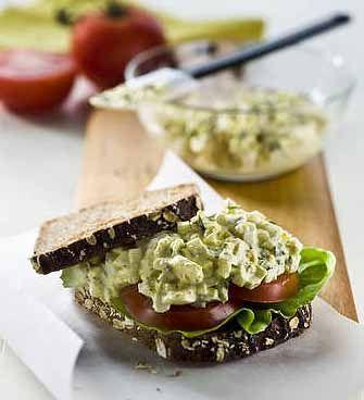 Tarragon Egg Salad | Egg Recipes | Pinterest