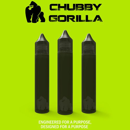 Black Unicorn Bottle -15ml by Chubby Gorilla Vaping Products - 15ml Black Unicorn Bottle