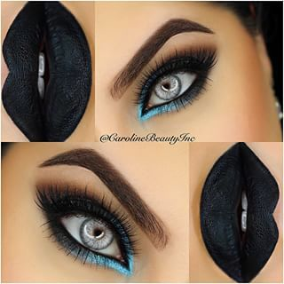Very cool makeup for something themed! don't know if i could ever pull a look like this off but i think its awesome for whoever could!