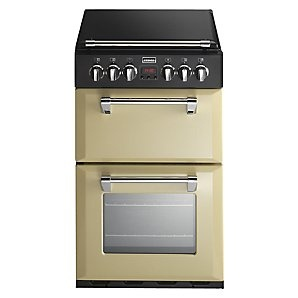 Stoves DF550 Dual Fuel Mini Range Cooker, Champagne