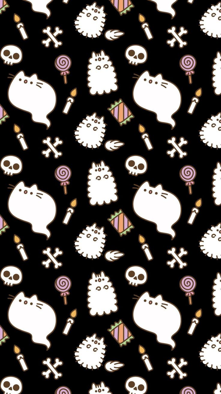 iphone wallpaper pusheen the cat halloween october autumn wizard witch iPhone X Wallpaper 214906213458074466 7