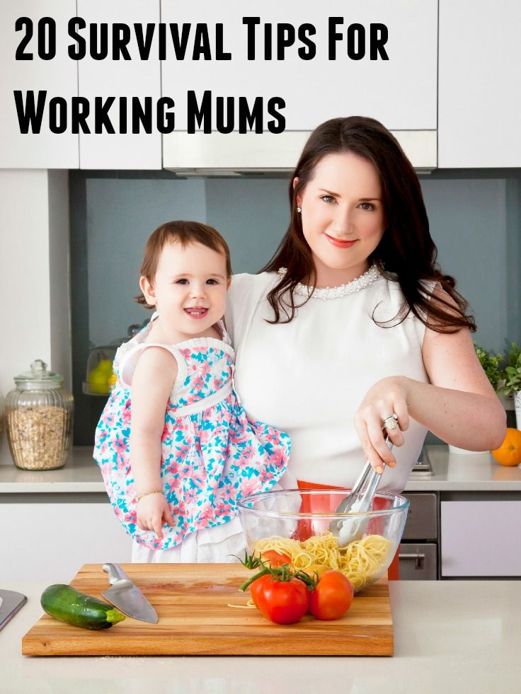 Use these survival tips for working mums to help you deal with the eternal juggling act of working, parenting and managing all the other stuff life brings