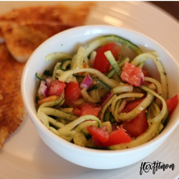 Cucumber & Tomato Salad -healthy side dish for lean protein