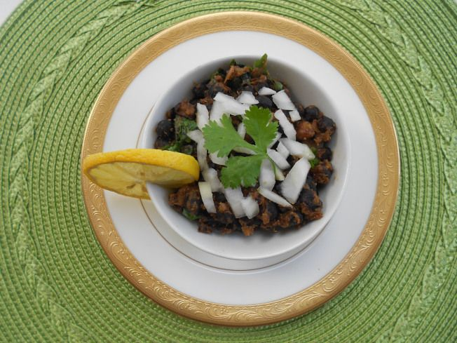 Indian Dry Kale Chane/Black Gram/Chickpeas Recipe