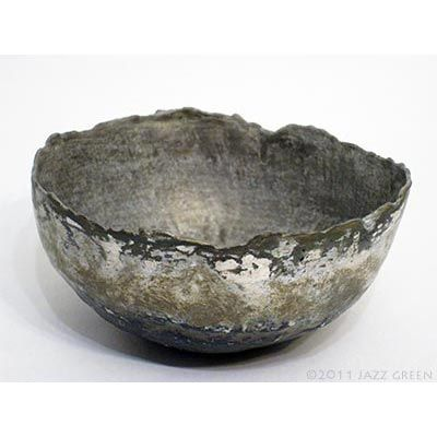 papier mache bowls by jazz green