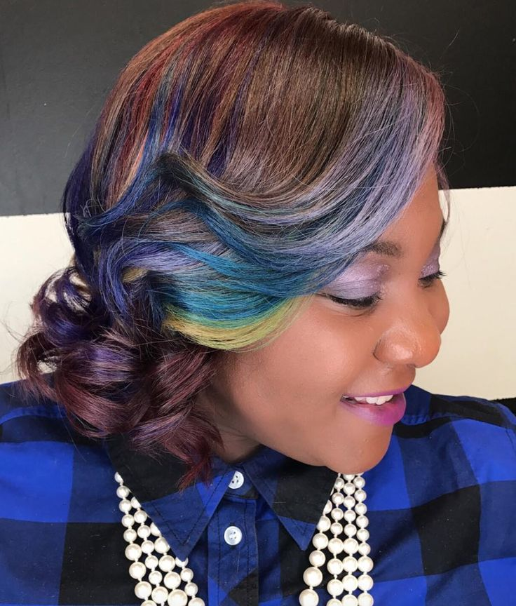 cute color combo via msklarie read the article here httpblackhairinformation - Cute Coloring Pics