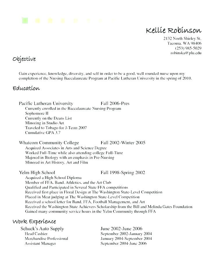 Example Of Cashier Resume Sample Objective Statements For
