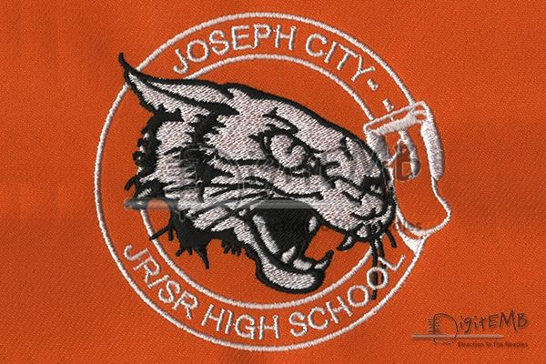 Joseph City Embroidery Design  Get Digitized Logo Now On Any Apparel To Promote Your Brand, It Pays To Be Unique, So Take That Extra Step To Come Up With A Solid Embroidered Strategy.  For Orders visit: http://www.digitemb.com/New-Register.php   #JacketBackDesign #DigitizedLogo #pique #DigitEMb   #CompanyLogo #Creativedesign #LogoDesigns #LeftChest #CustomEmbroidery #PoloShirts #Caps #Embroidery #Artwork #Apparel #cap #excellentdigitizingservices #tiger