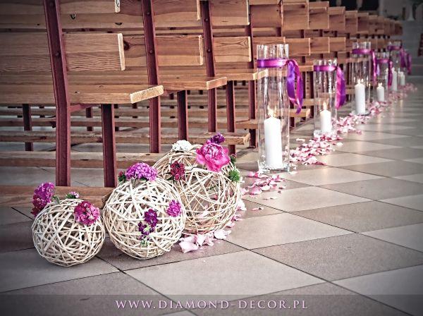 koronkowe dekoracje ślubne w kościele - Szukaj w Google