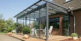 Image result for glass porch roofs