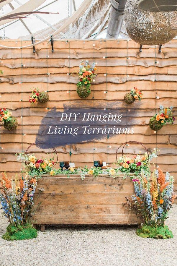 DIY hanging terrariums | http://ruffledblog.com/diy-hanging-living-terrariums/