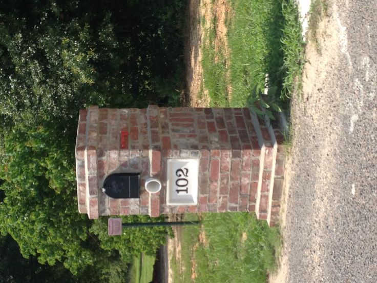 Brick mailbox More