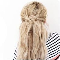 DOZENS of different hairstyles on this site. And tutorials.