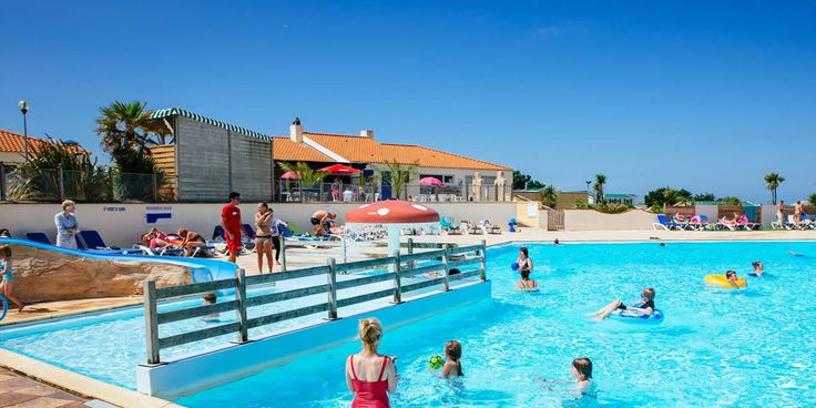Camping La Dune des Sables, Hot Southern Vendee region of France.