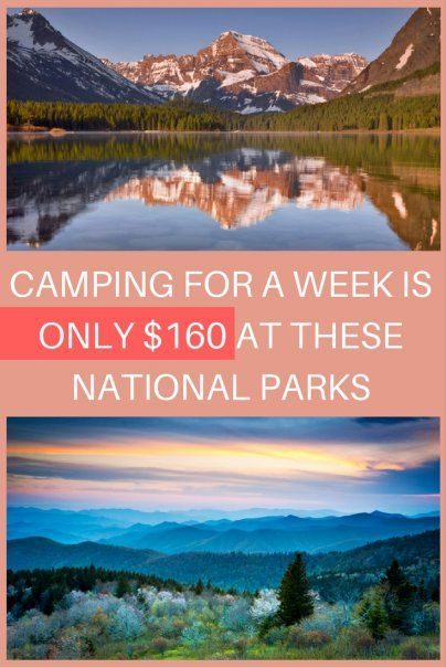 Camping for a Week Is Only $160 at These National Parks | Affordable Vacation Ideas | Family Travel | Cheap Outdoor Adventure Inspiration