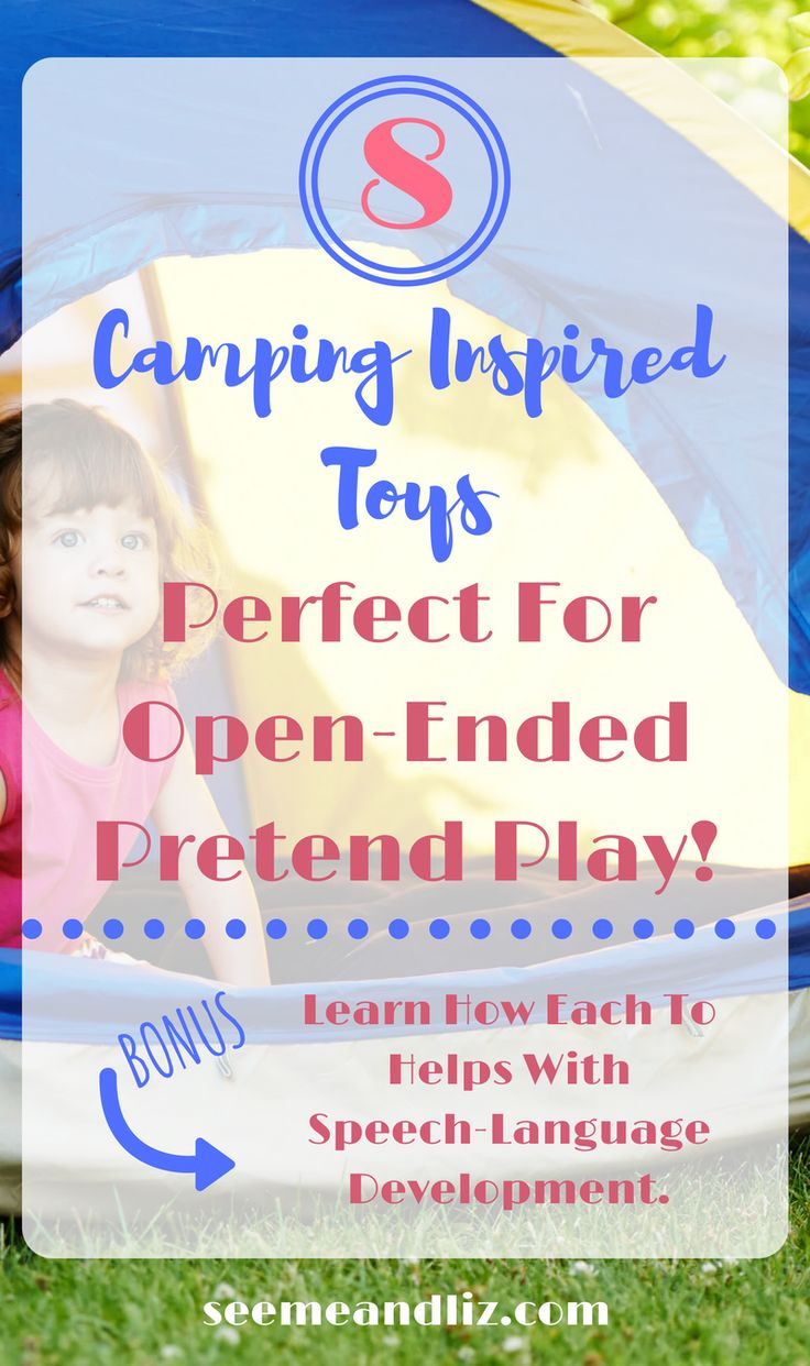 Pretend camping toys for kids - great open ended &…