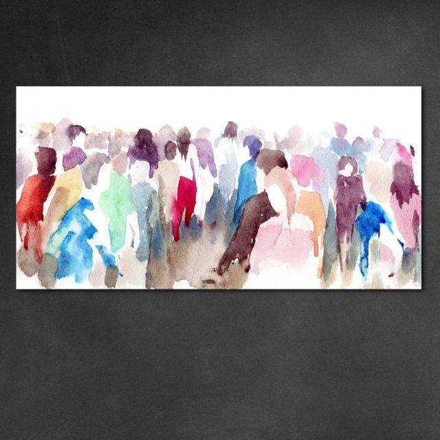 Obraz na płótnie People 100 x 50 x 2