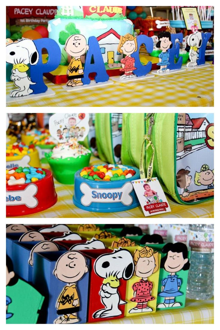 SNOOPY BIRTHDAY PARTY