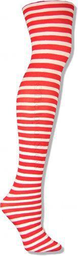 The Joy of Socks - Red and White Striped Tights, $5.00 (http://www.joyofsocks.com/red-and-white-striped-tights/?gclid=CjwKEAiAp_WyBRD37bGB_ZO9qAYSJAA72IkgcNb_r7CDY3hDheS90ie_Q2DBqpFyINnrtwdqA7iRwhoCumjw_wcB/)
