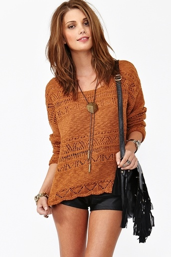 $75: Sweaters, Style, Clothes, Slouchy Sweater, Spices, Nastygal, Hair, Spice Knit, Knits