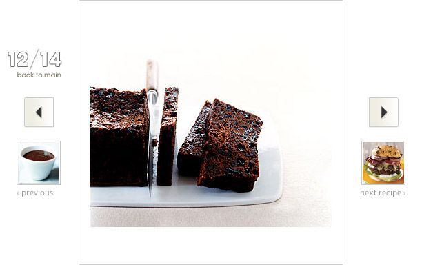 Coffee Fruitcake Recipe: #Coffee rehabilitates fruitcake's tired image by adding depth to the spices and dried fruit.