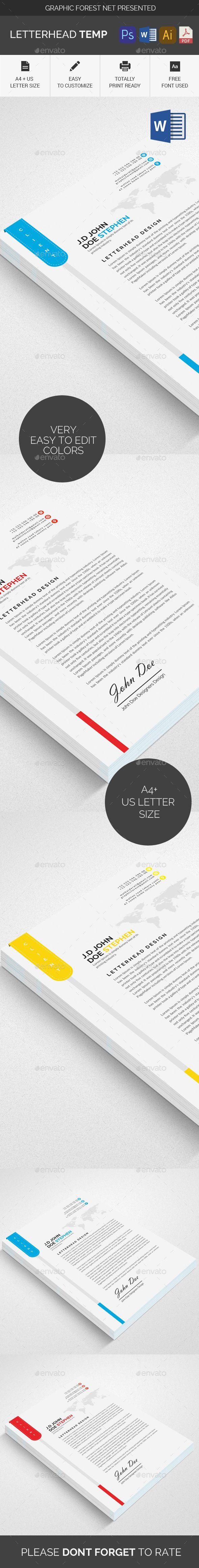 Letterhead Letterhead Template 828 best Letterhead