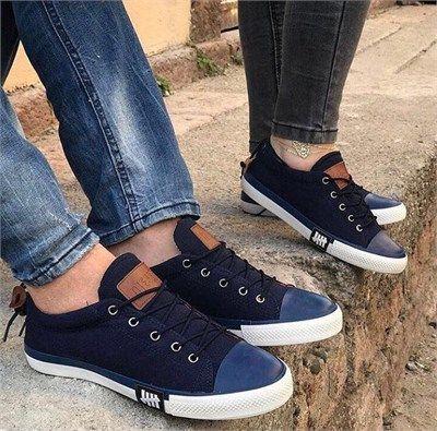 Erkek Günlük Sneakers Spor Ayakkabı Lacivert