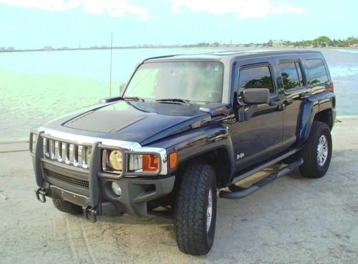2007 Hummer H-3. - Was a US Marshals Vehicle